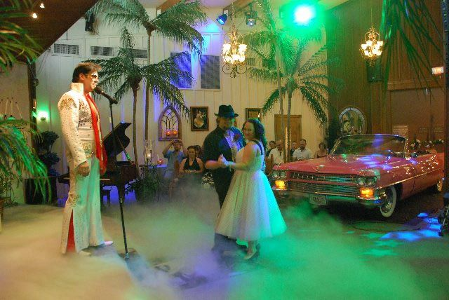Get Our Vows Renewed By Elvis This Is At The Viva Las Vegas