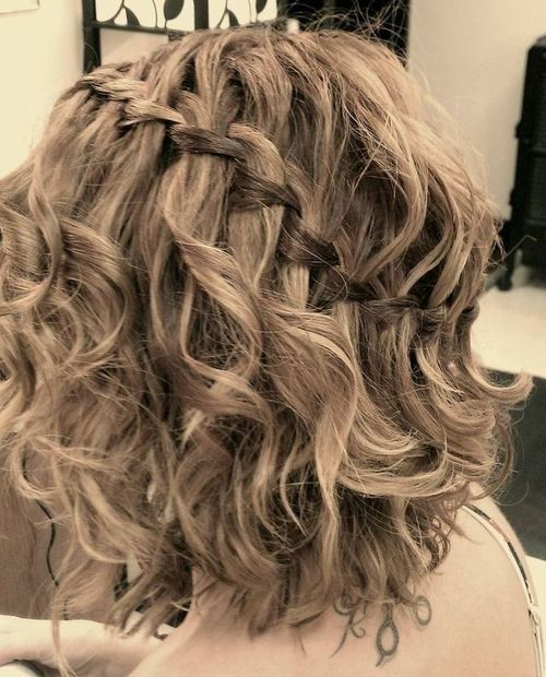 25 Special Occasion Hairstyles | Really short hair, Medium hair styles, Curly hair styles