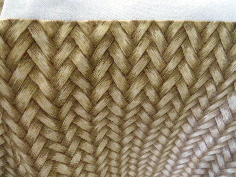 Brown bed sheet textures - Ralph Lauren Queen Dust Ruffle Bedskirt Desert Plains Wicker Tan Brown Vintage Bedding Sheets Linens Retired Pattern
