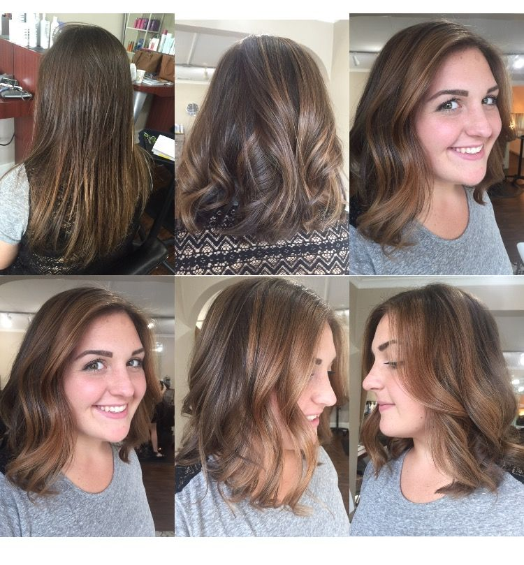 Balayage Bronde Before And After Hair Makeover Transformation Lived