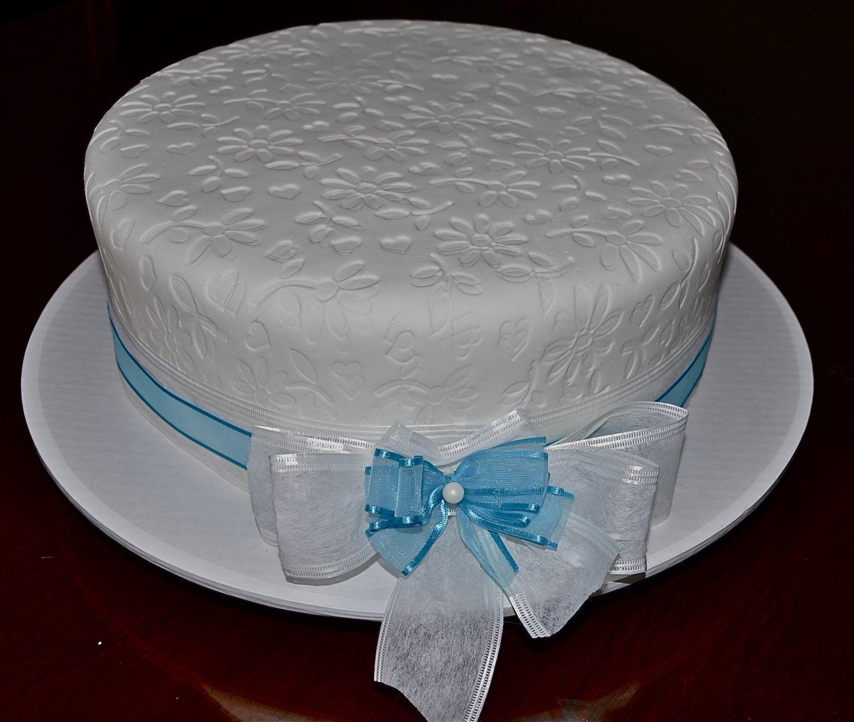 Baptisim Cake