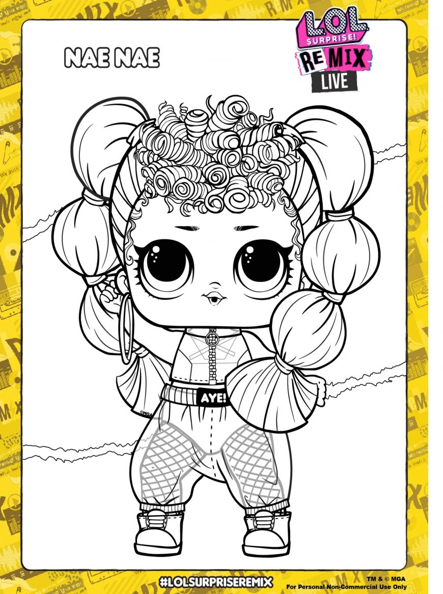 Lol Surprise Remix Coloring Pages And Activity Pages Youloveit Com Cute Coloring Pages Coloring Pages Lol Dolls
