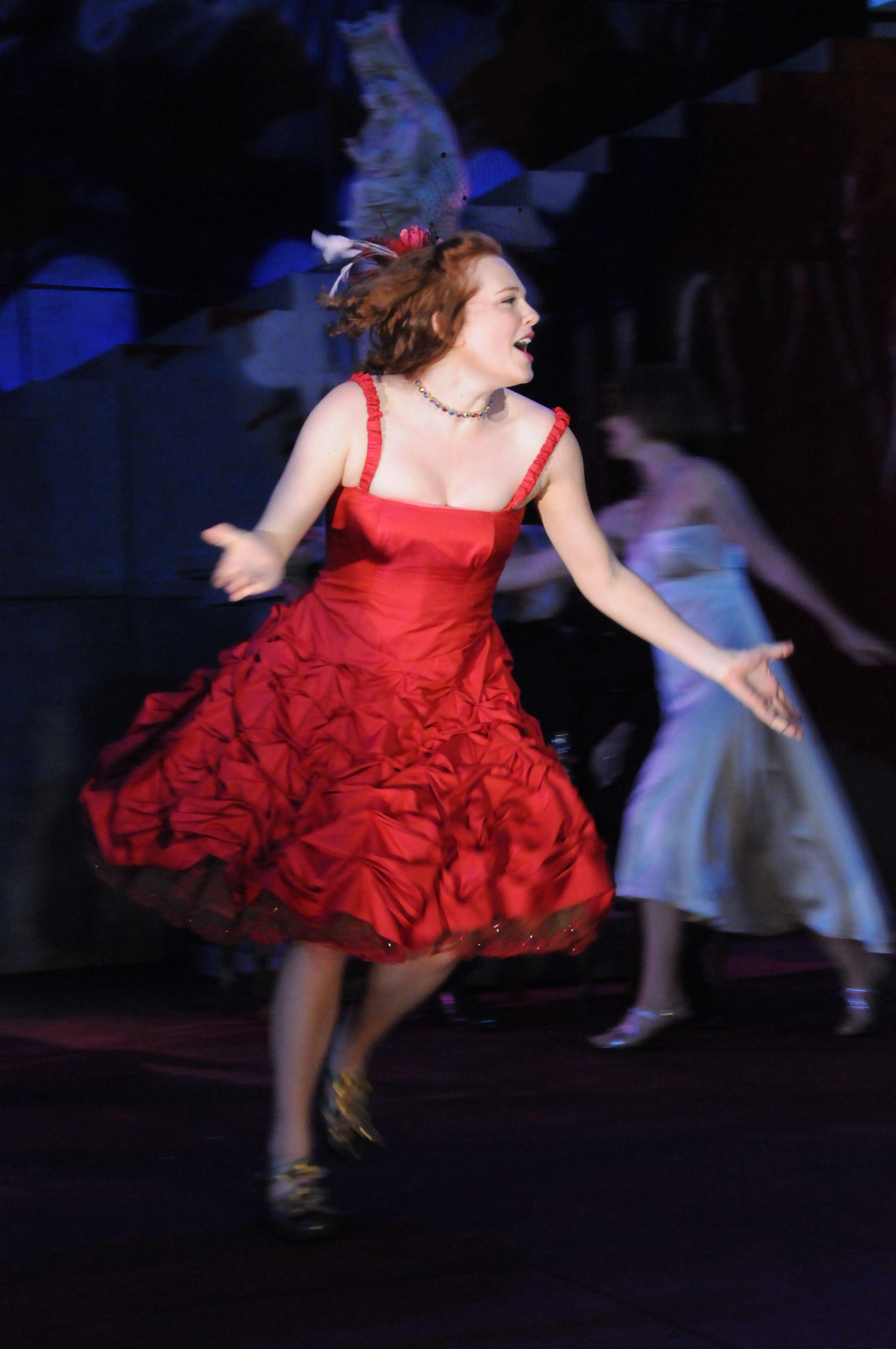 Sarah Nealis as Juliet in Romeo & Juliet, 2009.#calshakes40th