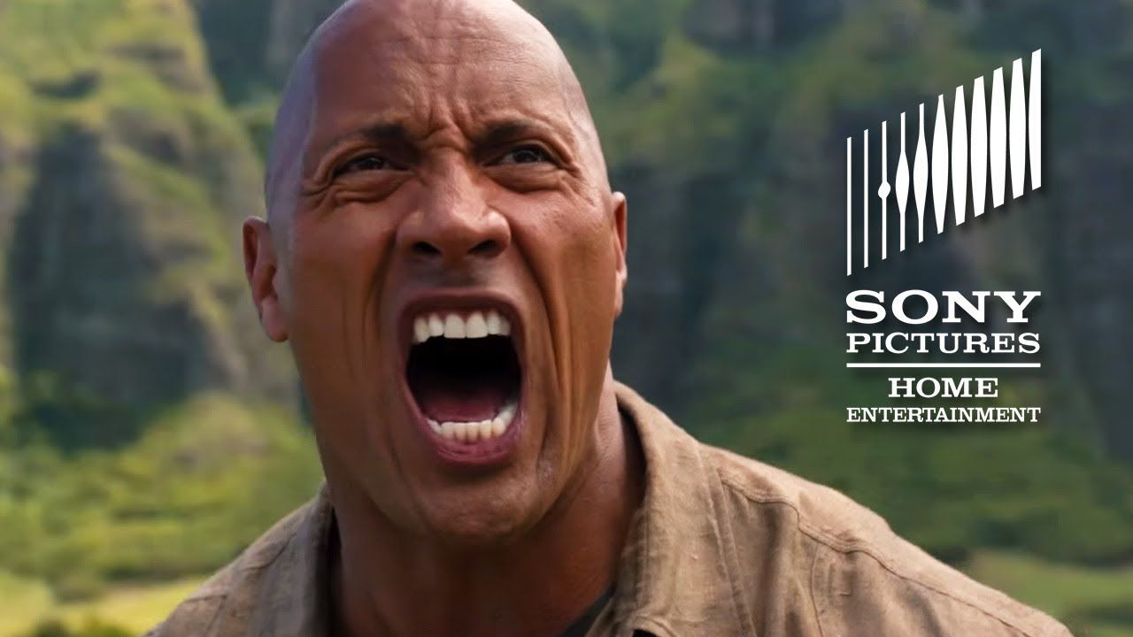 Jumanji to the jungle official bluray and