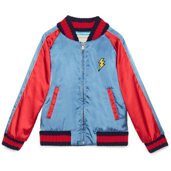 69096c0c Gucci Children'S Nylon Bomber With Tiger (3.365 RON) found on ...