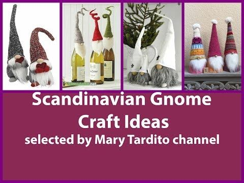Scandinavian Gnome Crafts Ideas Christmas Crafts To Make And Sell