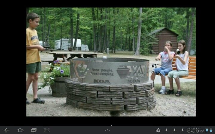 KOA campground in Roscommon Michigan  Great facilities and