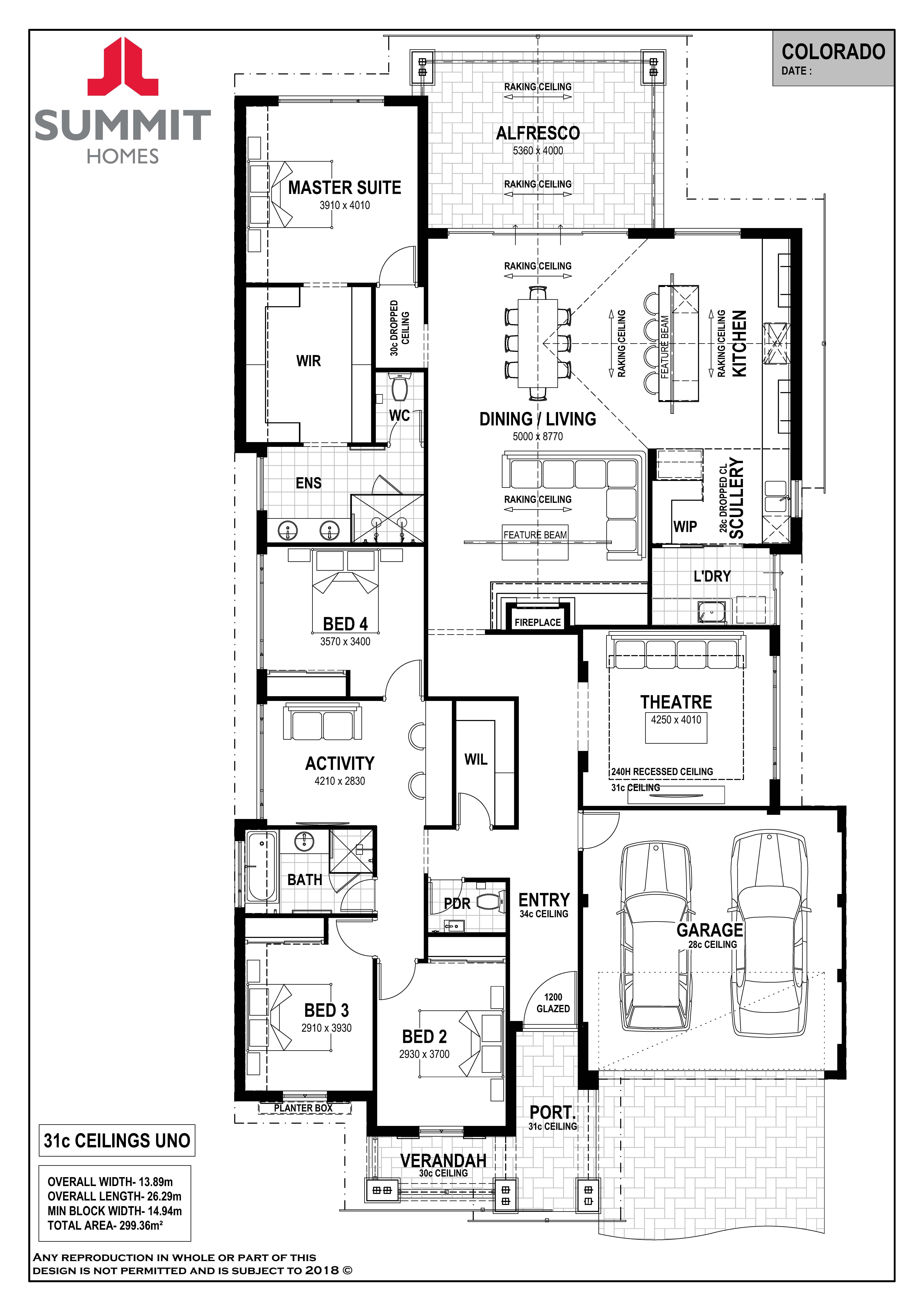 Colorado Floorplan Floor Plans Summit Homes Dream House Plans