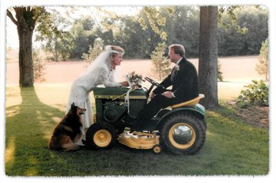 Unusual Wedding Departure With The Best Dog Unusual Weddings