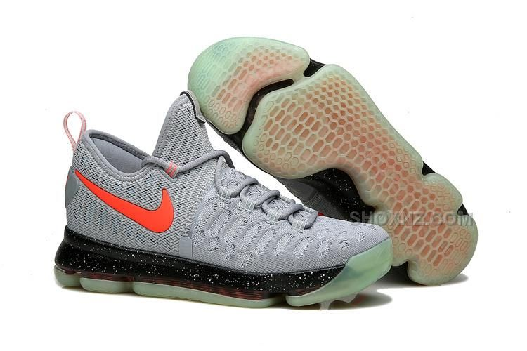 Big Discount  66 OFF KD 9 Limited Edition Gray Black Red Fluorescence 2016 For Sale