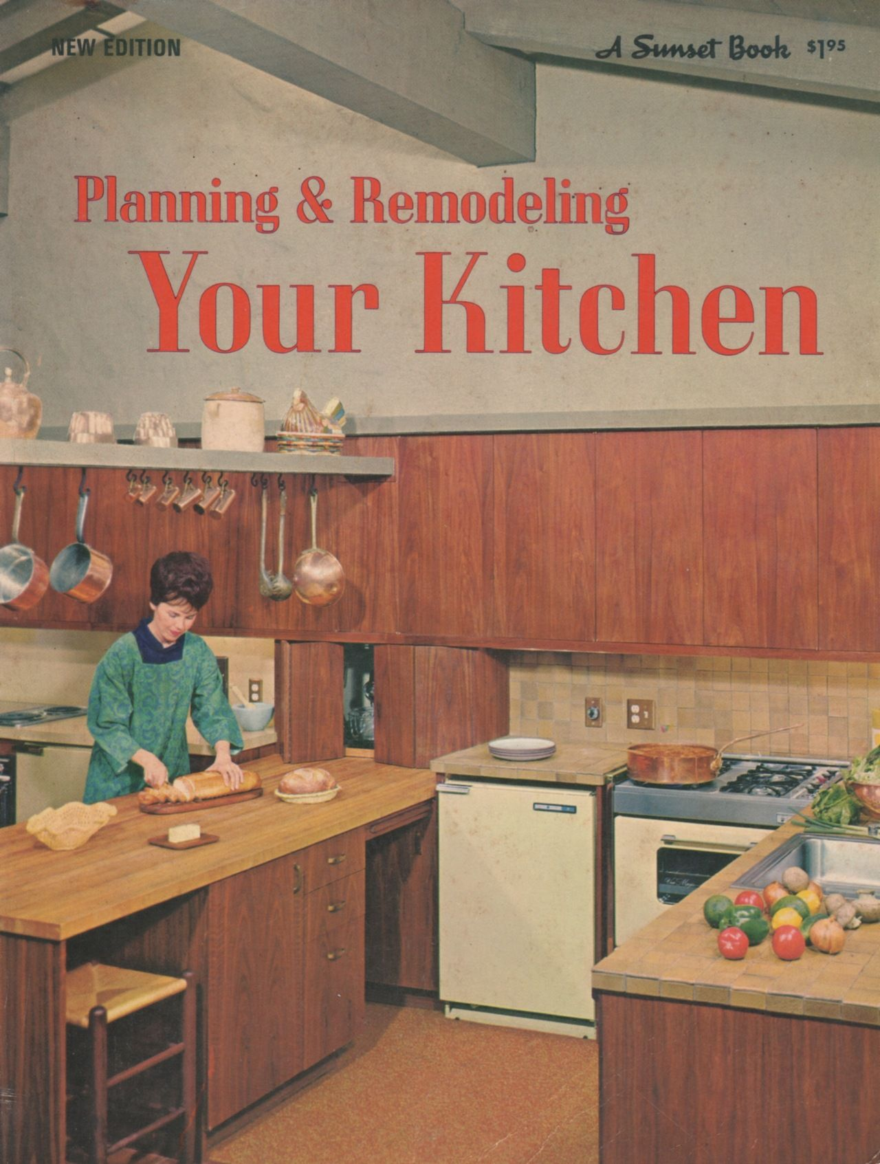 planning & remodeling your kitchen (a sunset book). lane, 1967