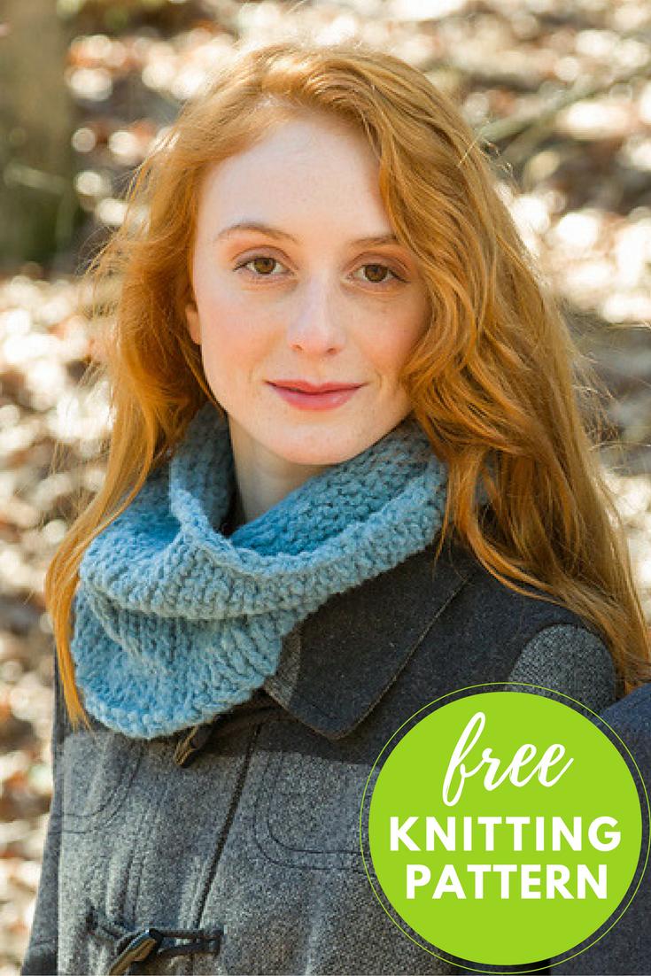 Easy Century Cowl Free Knitting Pattern | Pinterest | Beginner ...