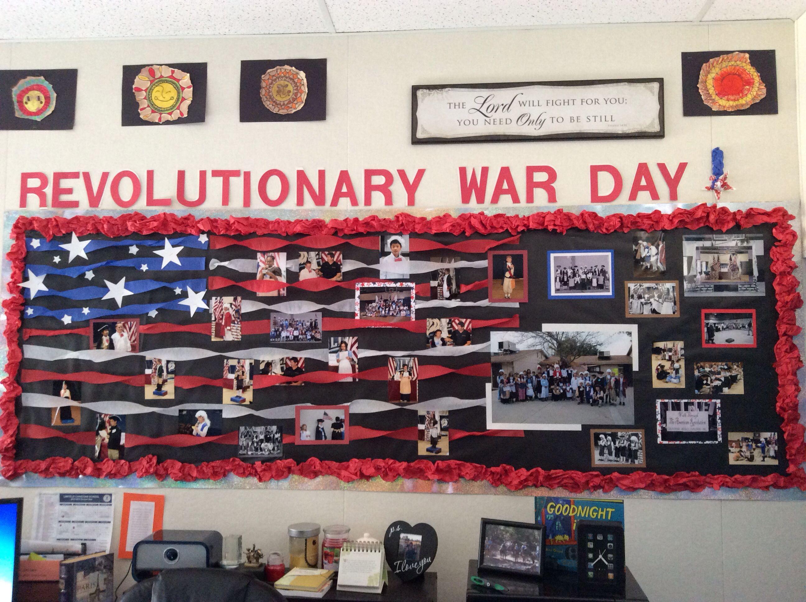 Revolutionary War Bulletin Board