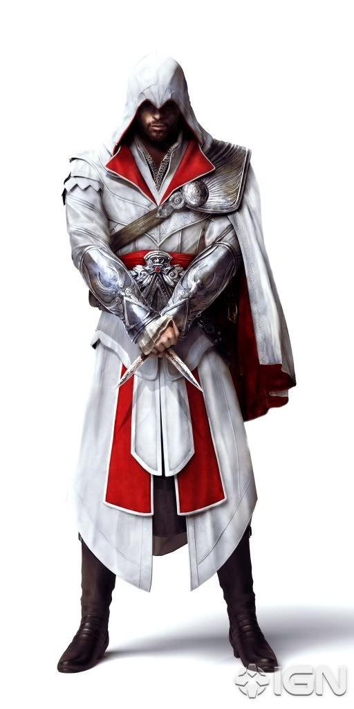 Interpreting The Assassin Ezio Costume Part 1 Assassins Creed