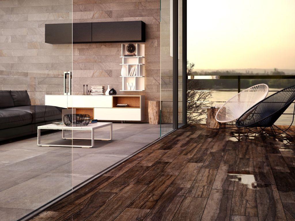 Una idea para remodelar con interceramic casa - Losetas madera exterior ...