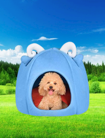 Foldable Pet House Bed Dog Cat Soft Kennel In 2021 Puppy Cushion Sleeping Dogs Dog Bed