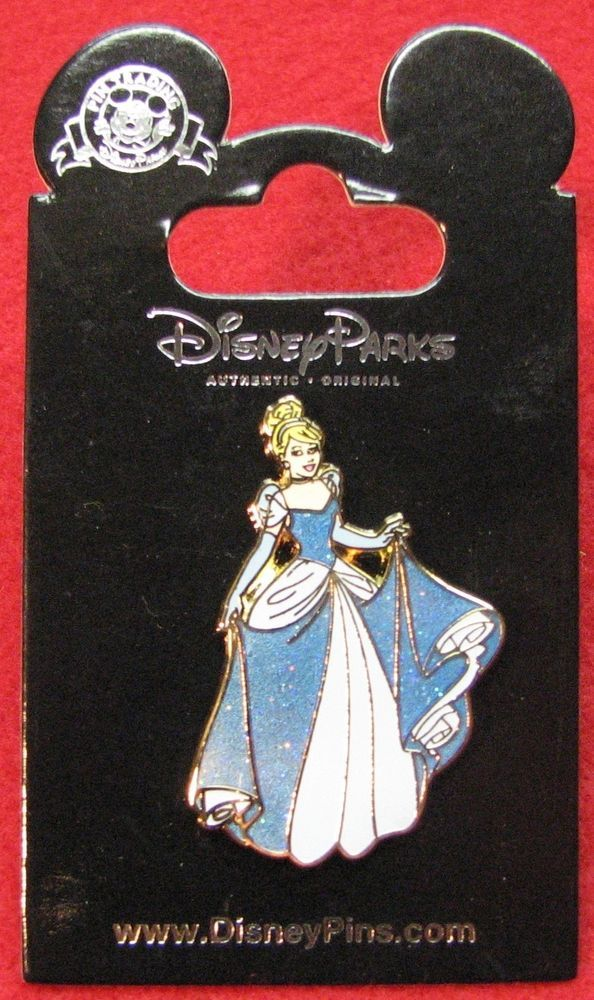 Disney Cinderella in Ballgown Pin- New on Card