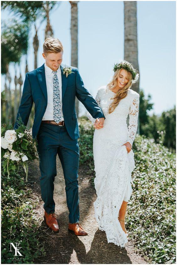 Modest Wedding Dresses in California