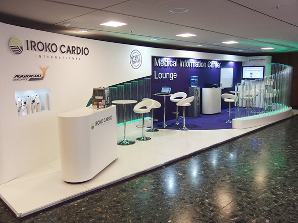 Exhibition Booth Area : Pharmaceutical exhibition stand display