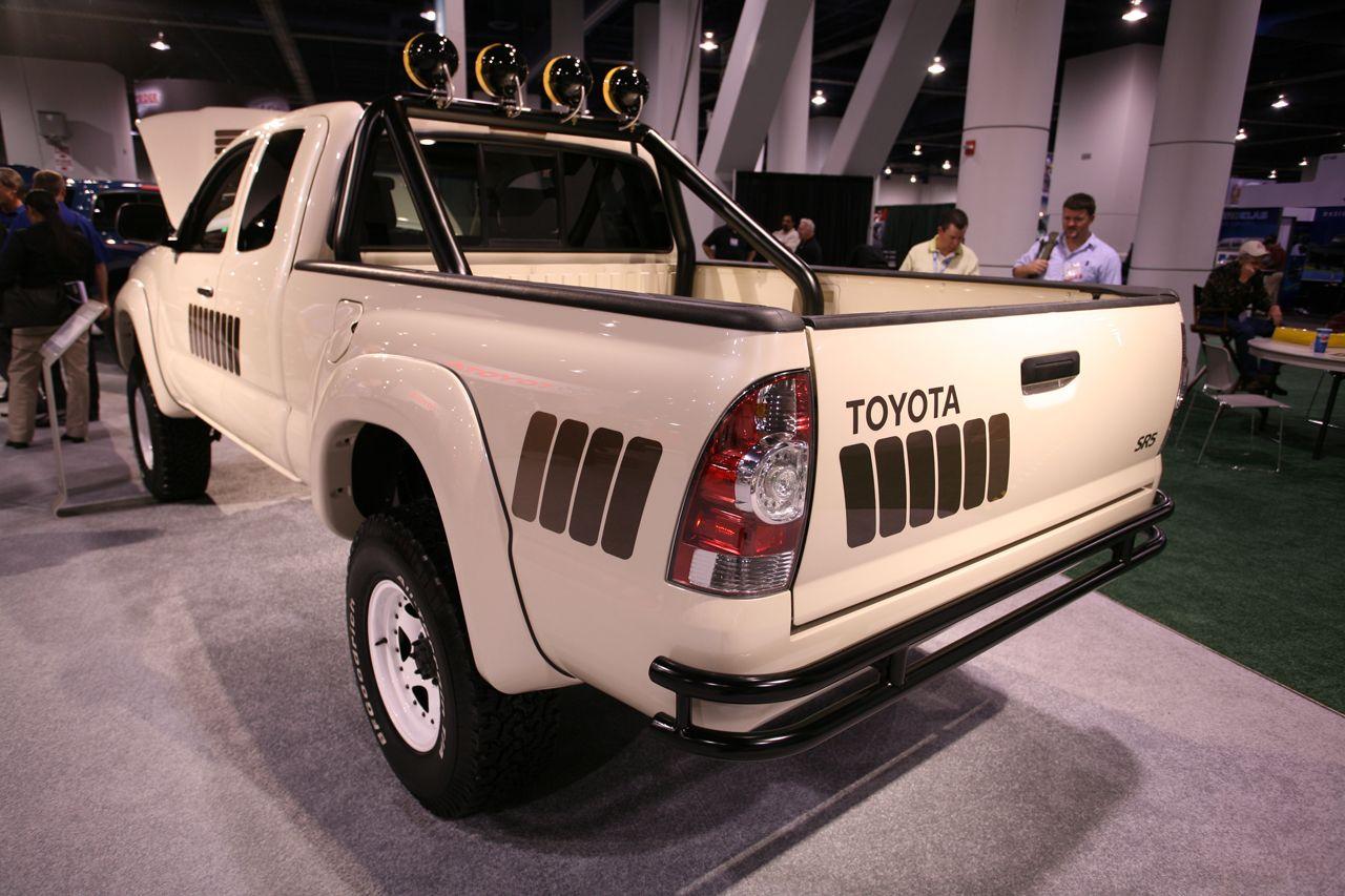 Retro Toyota Tacoma