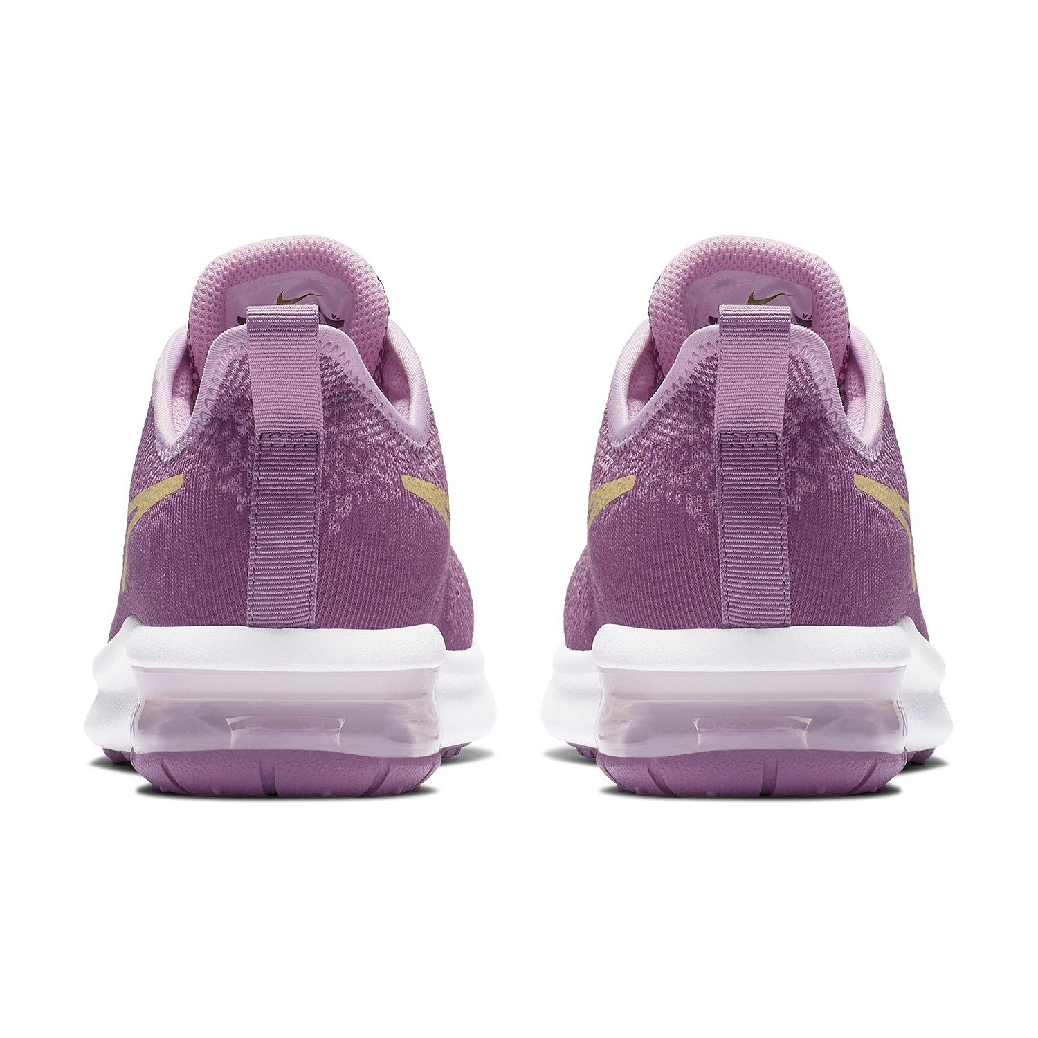Nike Air Max Sequent 4 Grade School Girls' Sneakers #Max