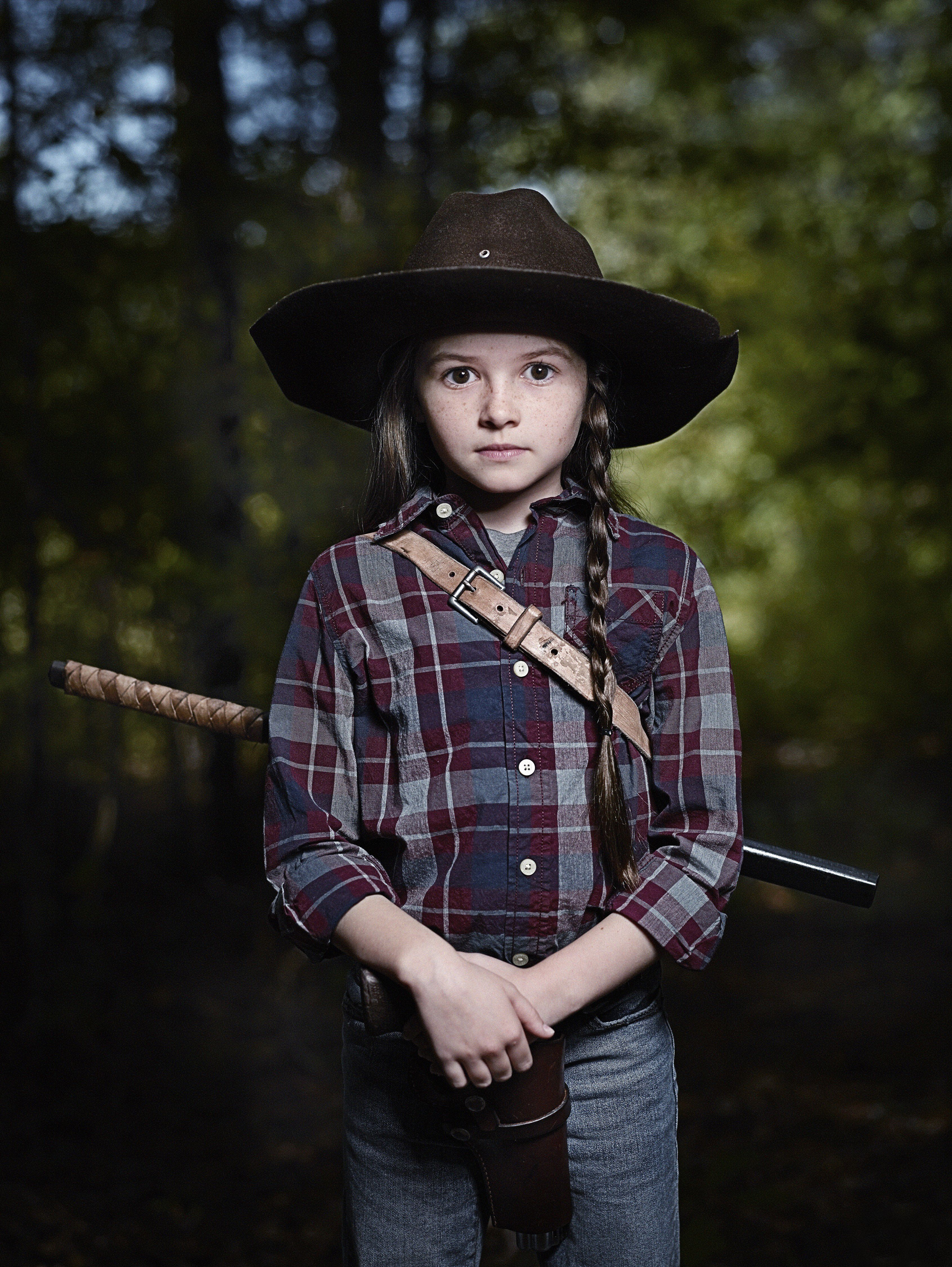 The Walking Dead S9 Cailey Fleming As Judith Grimes