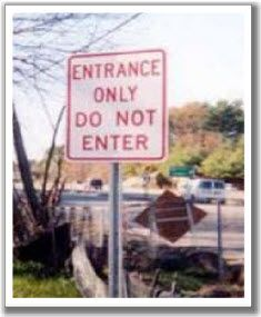 Okay then...where's the exit?