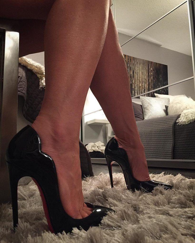 6ff0c313f679 An Instagramer s Christian Louboutin Hot Chick Heels  shoe junky xo ...