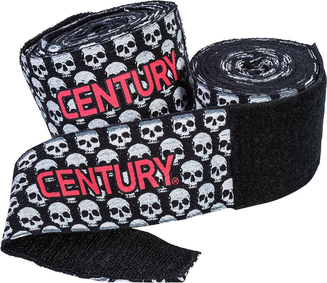 Century 108 cotton printed hand wraps hand wrap skull