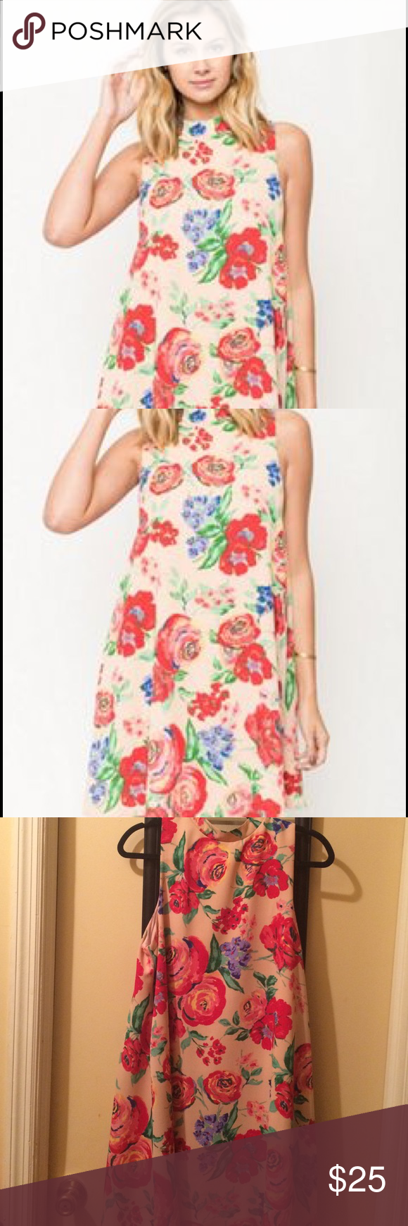 Floral Dress Floral dress only worn once Everly Dresses Midi