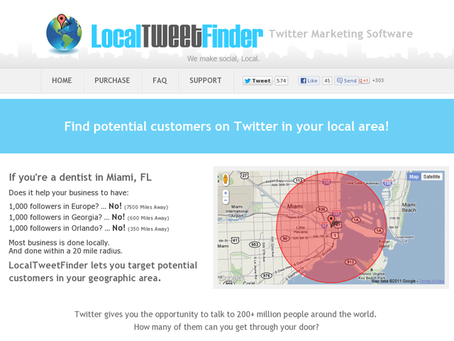 Local Tweet Finder Twitter Marketing Software Review  Get Full Review : http://scamereviews.typepad.com/blog/2013/03/local-tweet-finder-twitter-marketing-software-get-for-free.html