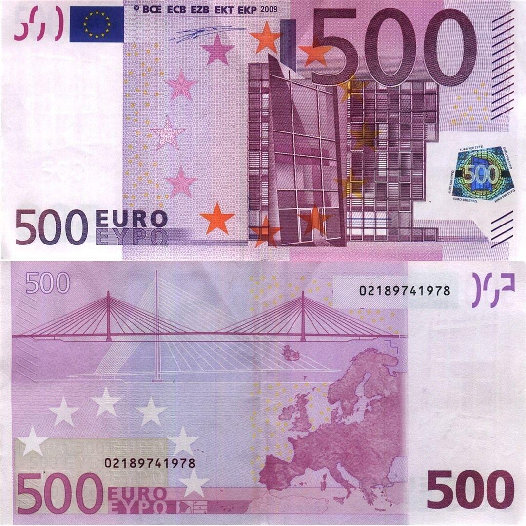 Eurocurrency 500 Funfhundert Euro Fotopedia Bank Notes Euro