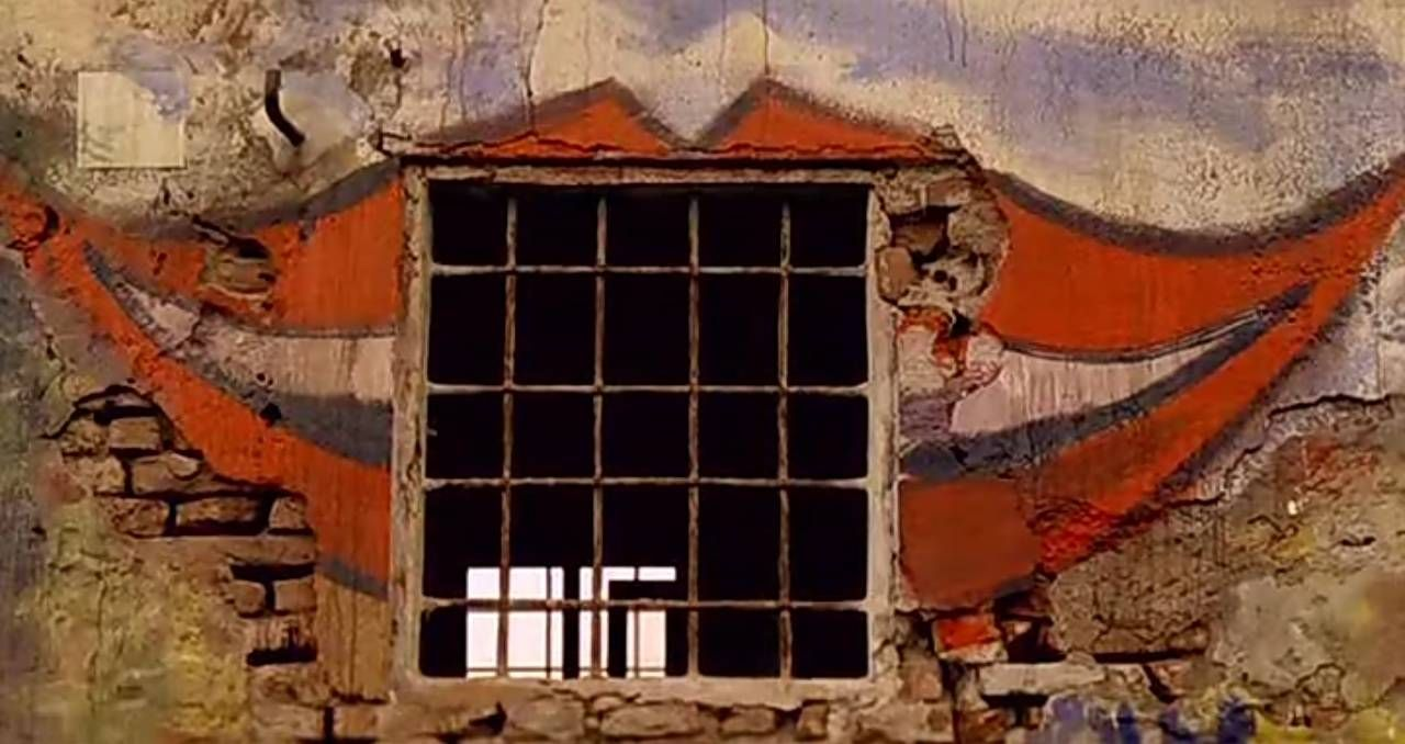 """""""The House with Laughing Windows"""" (Italian title: """"La casa dalle finestre che ridono"""") is a 1976 Italian giallo film co-written and directed by Pupi Avati.  http://horrorfanzine.com/movie-review-the-house-with-laughing-windows-1976/"""