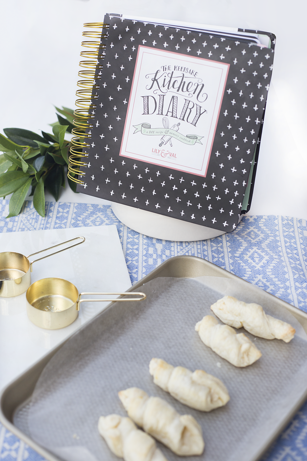 Keepsake Kitchen Diary | Recipe Book | Memory Keeping