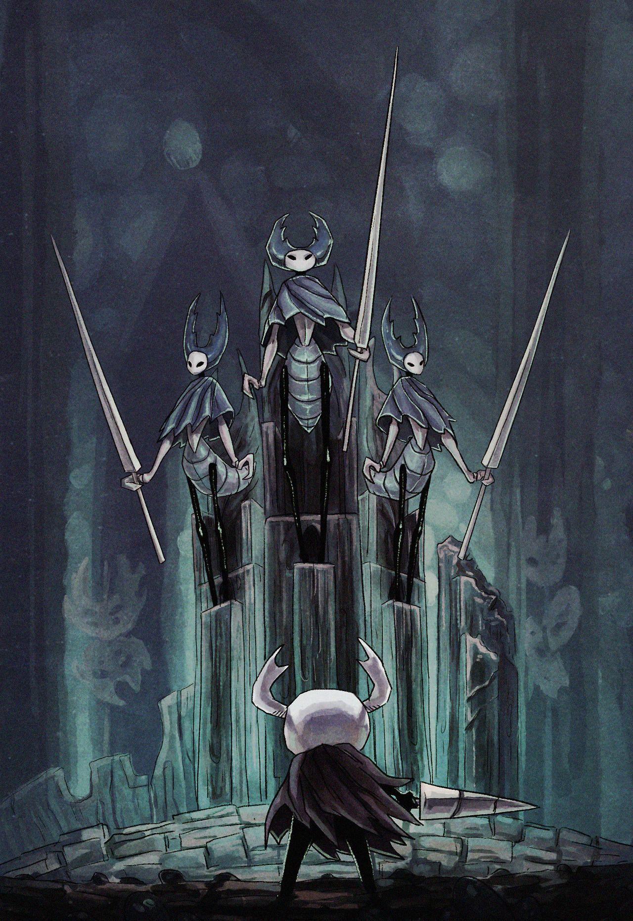 Mantis Lords Hollow Knight Hollow Art Knight Art Knight