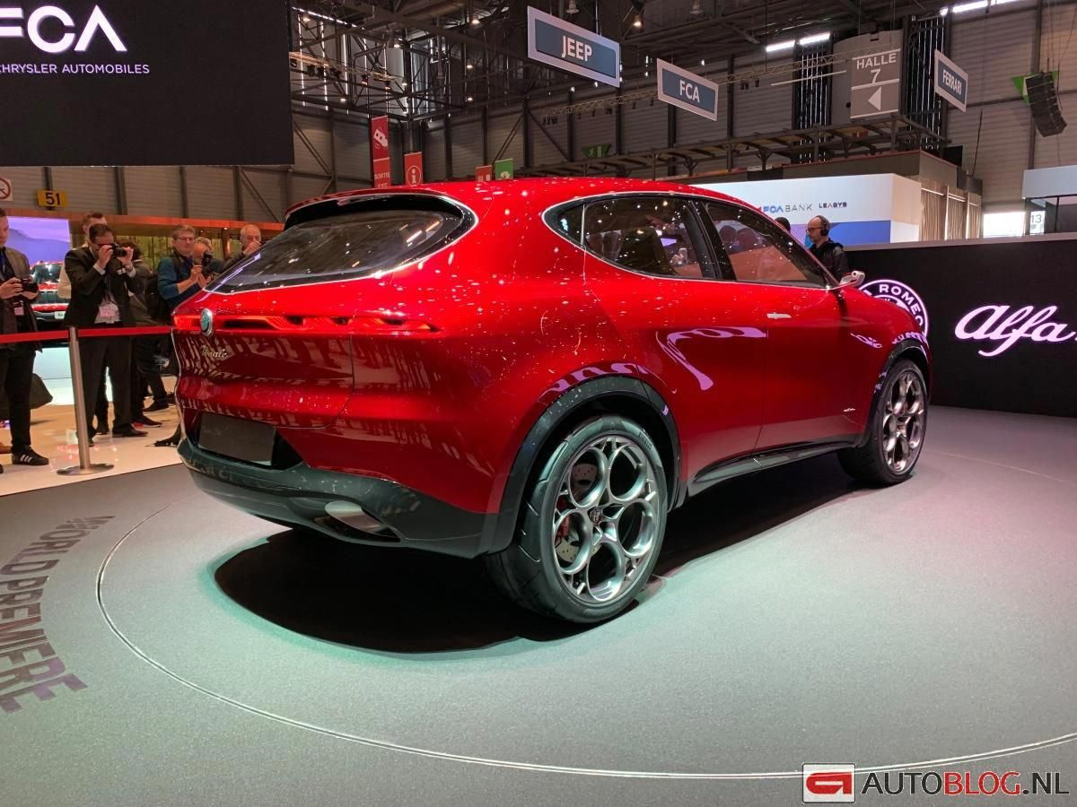 Beurzen Geneve 2019 Alfa Romeo Tonale Afbeeldingen Autoblog Nl