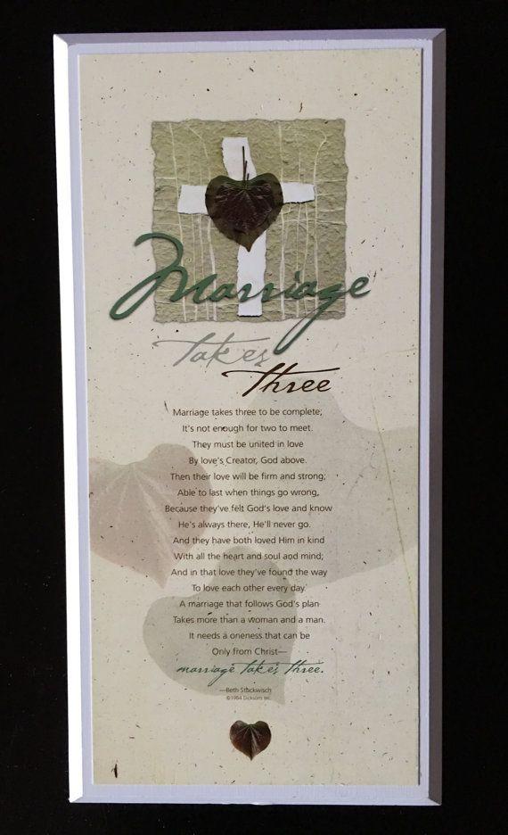 Marriage Of Three Poem