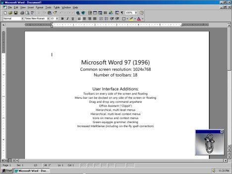 Microsoft Word   Rememberwhen    Microsoft Word