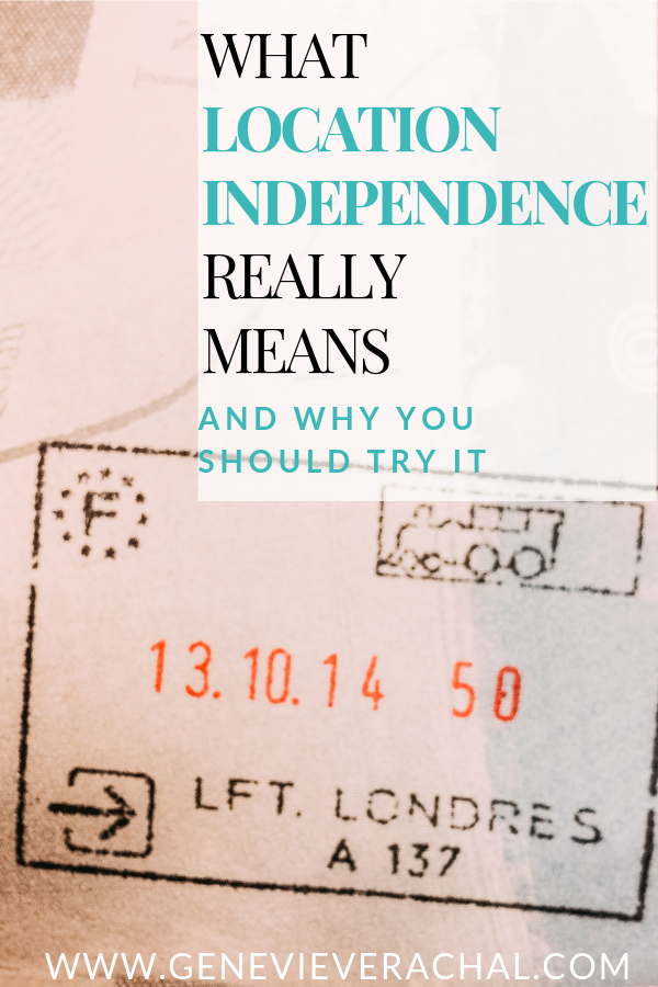 Find Out What It Means To Become Location Independent And Work From Anywhere In T Location Independent Location Independent Jobs Location Independent Lifestyle