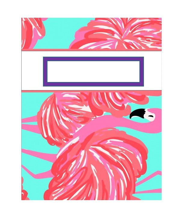 Binder Cover Templates, Cute