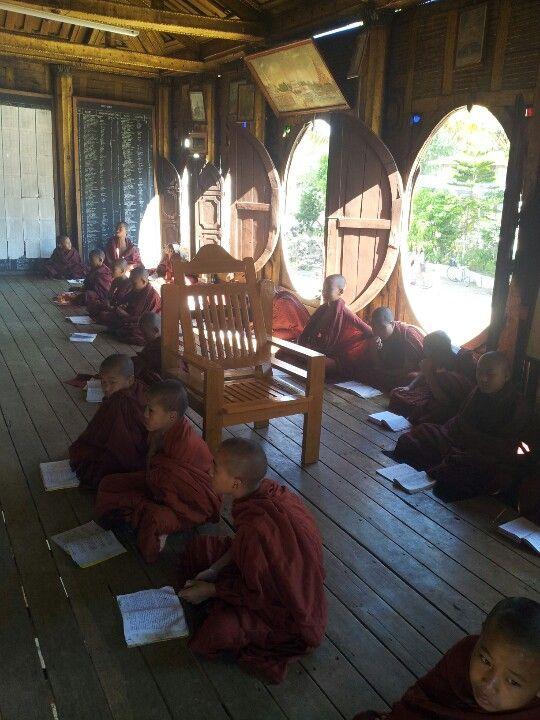 Novis school in Myanmar