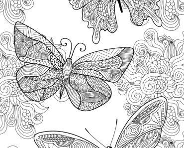 mandala målarbok för vuxna