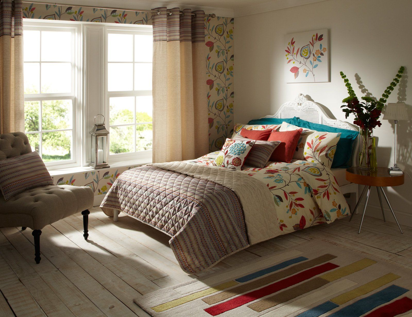 Modern quilt bedding - Modern Duvet Covers Luxury Printed Bedding Contemporary Quilt Covers Bed Sets Multi Coloured