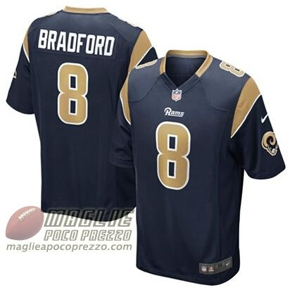 Sam Bradford St. Louis Rams Nike Youth Team Color Game Jersey - Navy Blue. Maglie  Nfl ...
