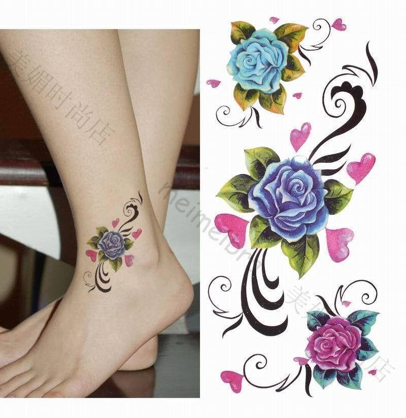 african violet tattoo google search tattoo ideas pinterest violet tattoo rose ankle. Black Bedroom Furniture Sets. Home Design Ideas