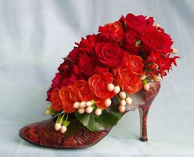 My Shoe Floral Designs Were Inspired By Oprah Winfrey When I Went To