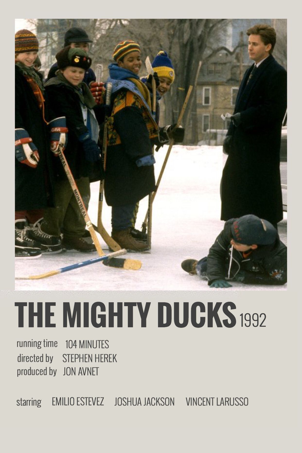 The Mighty Ducks by Megan