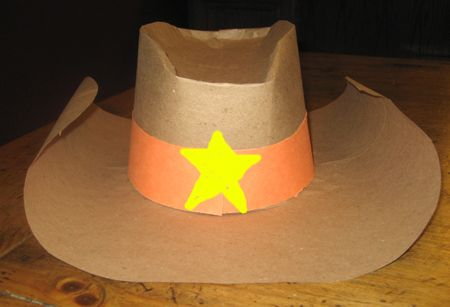 Halloween Style Western Cowgirl Cowboy Hat For Kid Boys Gilrs Party Costumes SP