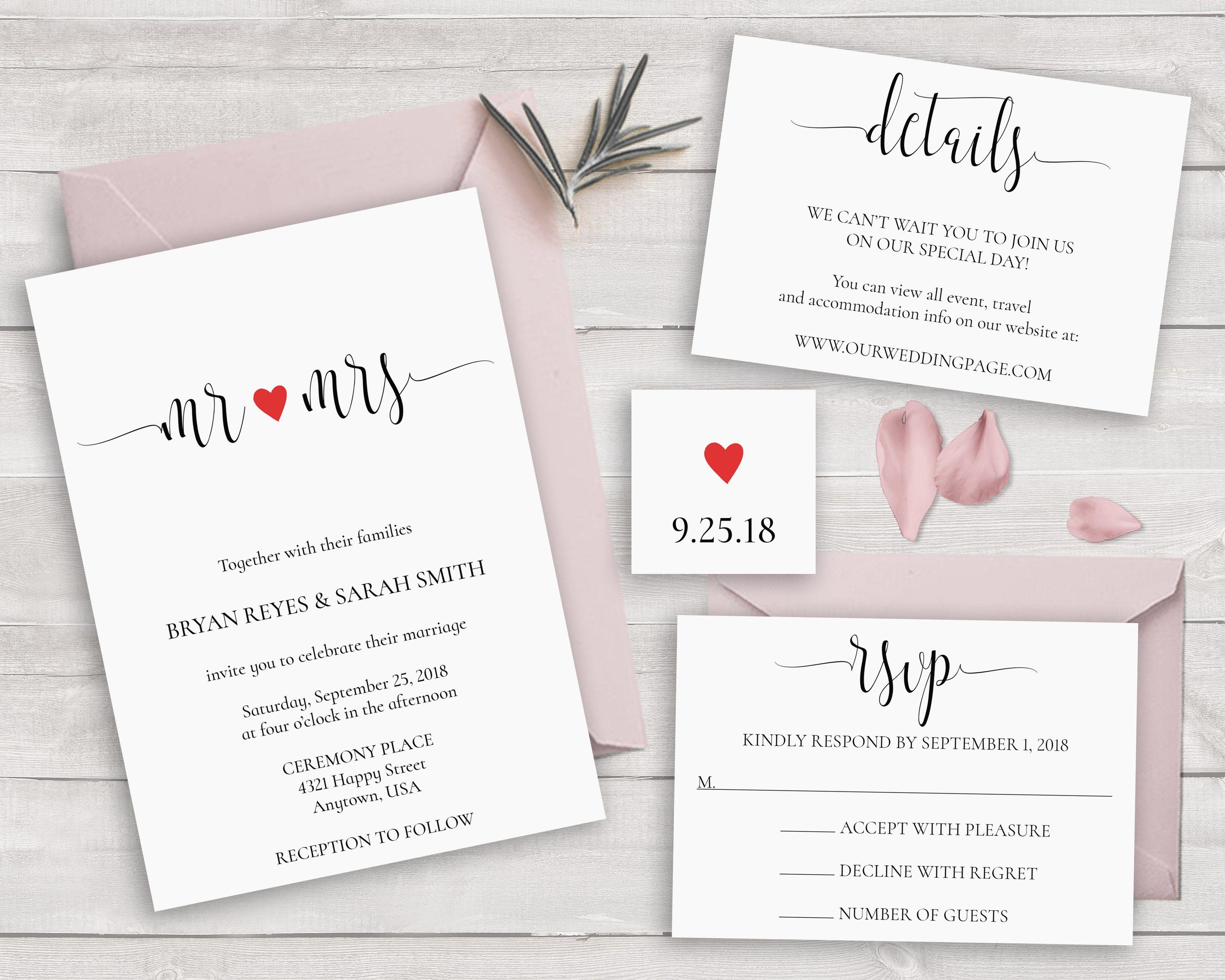 30 Romantic Wedding Invitations, Styles & Ideas | Brides | my future ...