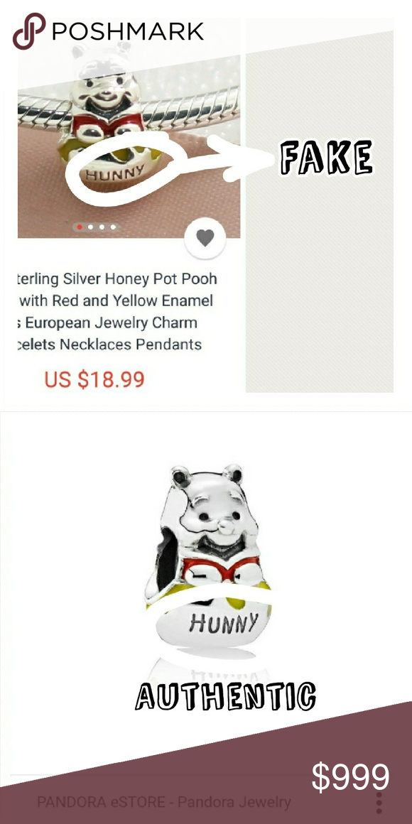 c6906ea20 Fake Pandora Winnie The Pooh Hunny For reference only. Here is one example  of the